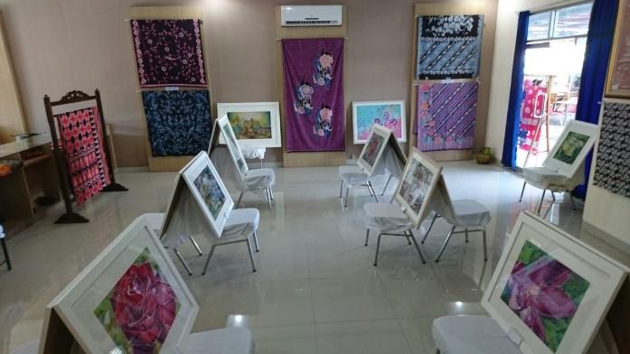 pameran batik universitas pekalongan
